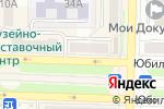 Схема проезда до компании Фортуна в Белово