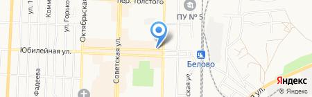 Ювелирный салон на карте Белово