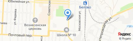 Сибирская финансовая компания на карте Белово
