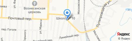 ДВС на карте Белово