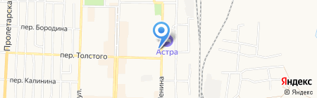 Беловский техникум железнодорожного транспорта на карте Белово