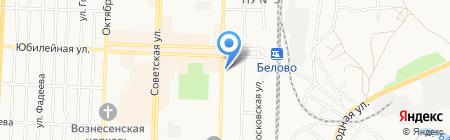 Банкомат МДМ Банк на карте Белово