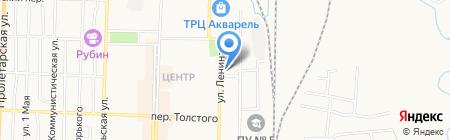 Транзит на карте Белово