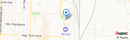 Беловская транспортная прокуратура на карте Белово