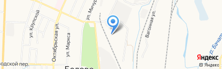 БетонАвто на карте Белово