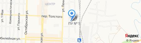 Линейный отдел МВД РФ на транспорте на карте Белово