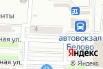 Схема проезда до компании Теремок в Белово