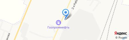 МАКС Моторс Бизнес на карте Белово