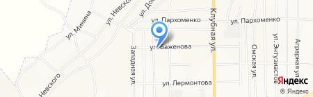 Сельский на карте Белово
