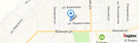 Детский сад №4 на карте Белово
