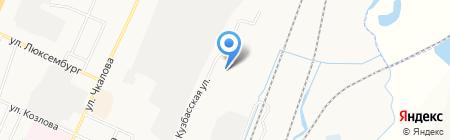 Сибчермет на карте Белово
