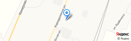 Беловское государственное ПАТП Кемеровской области на карте Белово