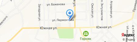 Магазин обуви на ул. Лермонтова на карте Белово