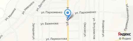 Центр социального обслуживания населения г. Белово на карте Белово