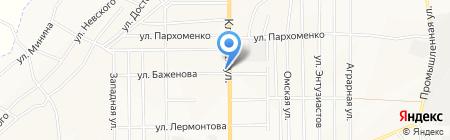 Гастрономчик на карте Белово