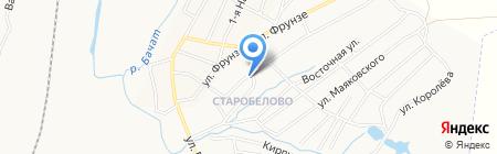 На Кузнецкой на карте Белово