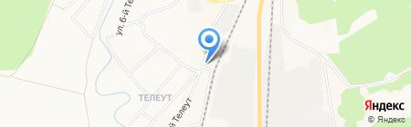 Сеть продовольственных магазинов на карте Белово