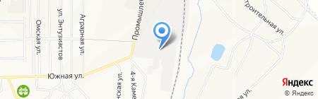 Шахта Чертинская-Коксовая на карте Белово