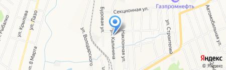 Уголёк на карте Белово