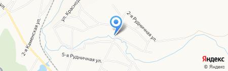 Рудничный на карте Белово