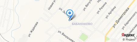 Основная общеобразовательная школа №4 на карте Белово