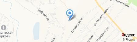 Компания аквапечати на карте Белово
