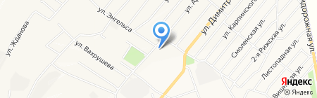 Городская инфекционная больница №3 на карте Белово