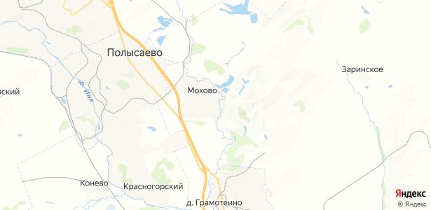 Мохово на карте