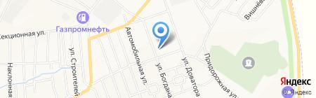 Пожарная часть №3 на карте Белово