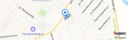 МСК на карте Белово