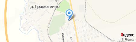 Церковь преподобного Серафима Саровского на карте Грамотеино