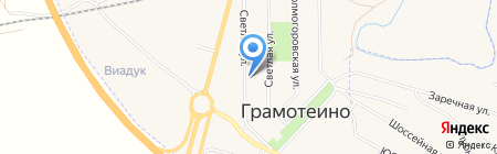 Сеть аптек на карте Грамотеино