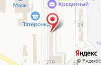 Схема проезда до компании Беловская реклама в Белово