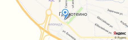 Банкомат Сбербанк России на карте Грамотеино