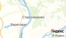 Отели города Старочервово на карте