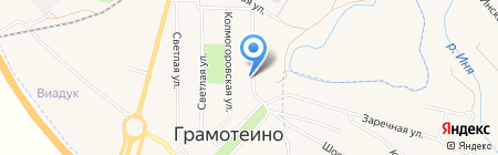 Аптека на Колмогоровской на карте Грамотеино