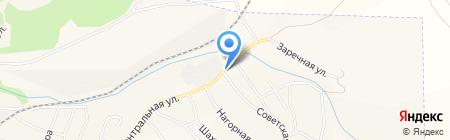Сеть продуктовых магазинов на карте Грамотеино