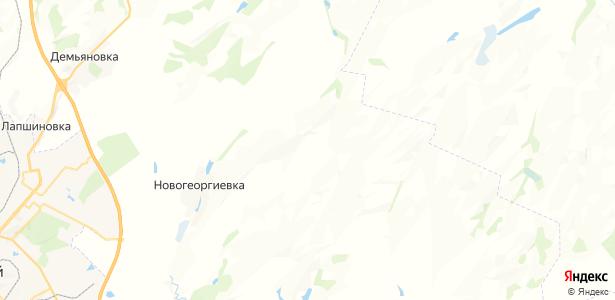 Золотарёвский на карте