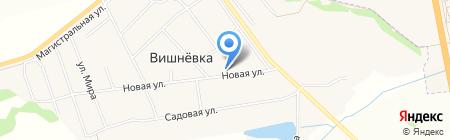 Вишнёвский на карте Инского