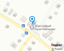 Схема местоположения почтового отделения 653250