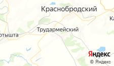 Отели города Трудармейский на карте