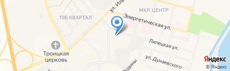Кузбассэнергосвязь на карте Инского