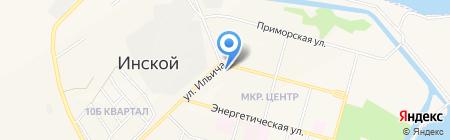 Банкомат Банк УРАЛСИБ на карте Инского