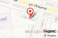 Схема проезда до компании Горняк в Белово