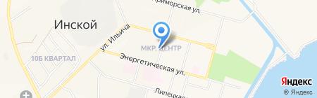 Банкомат Сбербанк России на карте Инского