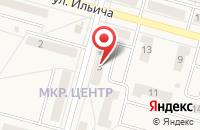Схема проезда до компании Кузбасская Энергостроительная Компания в Белово