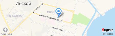 Детский сад №26 на карте Инского