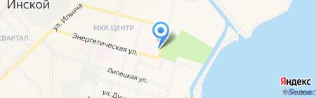 Взрослая поликлиника на карте Инского