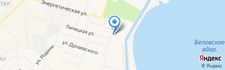 Парикмахерская на карте Инского