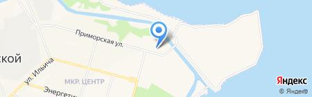 ДОСААФ на карте Инского